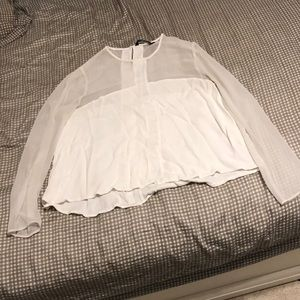 Zara Woman White Blouse